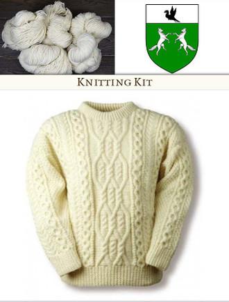 O'Donoghue Knitting Kit