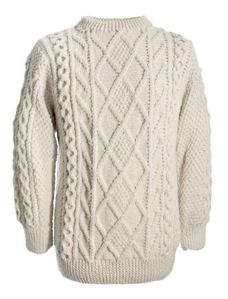 White Clan Sweater