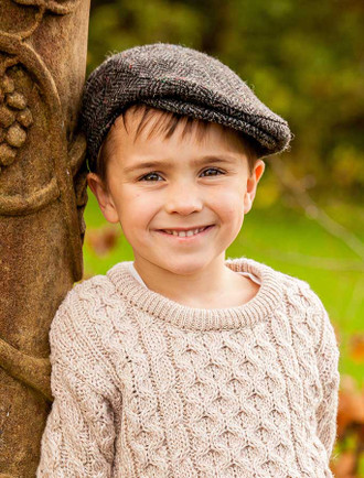 Children's Tweed Flat Cap