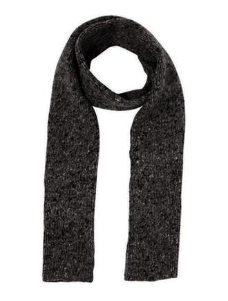 Hand Knit Plain Stitch Scarf