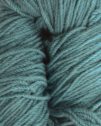 Aran Wool Knitting Hanks - Petrol