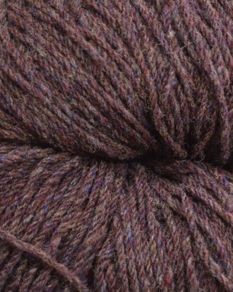 Aran Wool Knitting Hanks - Bilberry