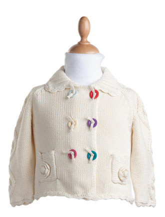 Kid's Cotton Flower Jacket