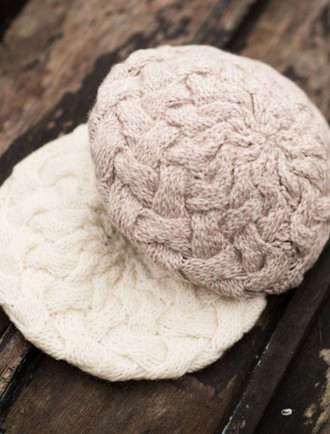 Intertwined Aran Beret
