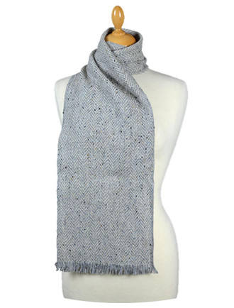 Herringbone Tweed Scarf