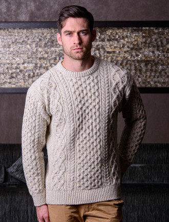 Luxury Aran Carrig Luxe Sweater