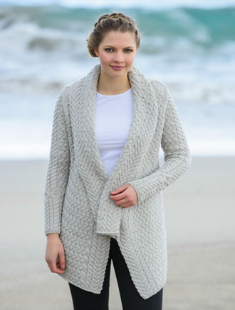 Waterfall Cable Cardigan