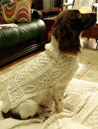 Aran Dog Coat