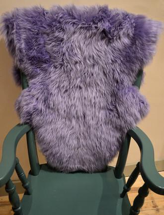 Deep Pile Sheepskin Rug - Lilac
