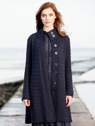 Trellis Aran Coat