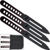 Competition Red Line Thrower Set Knives Precision Throwing Adjus