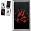 Feng Shui Steel Throwing Cards Martial Arts Set 4pcs Japanese Sh