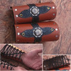 Medieval Leather Bracers Armor