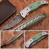 Magnum Trailmaster Damascus Folding Knife