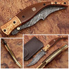 Executive Series MAGNUM COMBLOCK Damascus Folding Knife