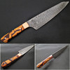 Santoku Damascus Steel Forged Chef Knife