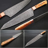 Gyuto Forged Chef Knife Olivewood Handle