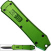 Legends Micro OTF Stiletto Blade Knife Green Out The Front