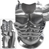 Heroic Cuirass 18ga Functional Armor Carbon Steel Muscles Roman Chest & Back Plates