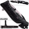8in TAC Force Sheriff Rescue Flashlight Pocket Knife Spring Assisted Folding LEO