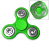 Fidget Tri-Spinner Green EDC All-Metal Weighted Bearing