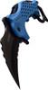 TAC FORCE Speedster Tactical Mammoth Karambit Knife Enforcer Blue LEO