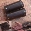 HAND MADE BROWN REAL Leather Armor