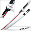 Overwatch Katana Genji Sword WHITE/RED Dragonblade
