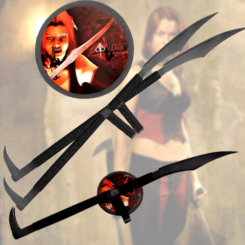 Bloodrayne Blade Swords (Only Available in Silver)