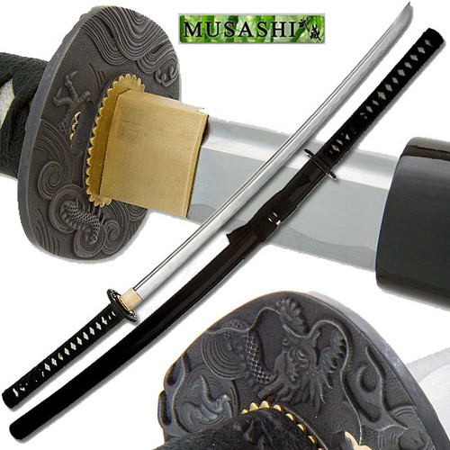 Bushido Musashi - Razor Sharp Dragon Strike Katana