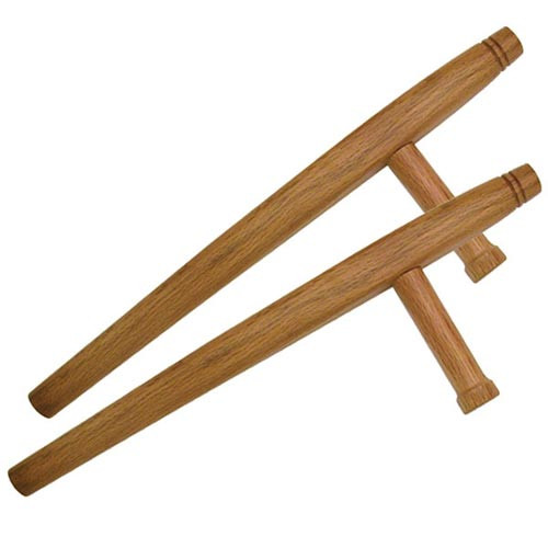 Natural Tonfa - Set of 2 - 20 Inches