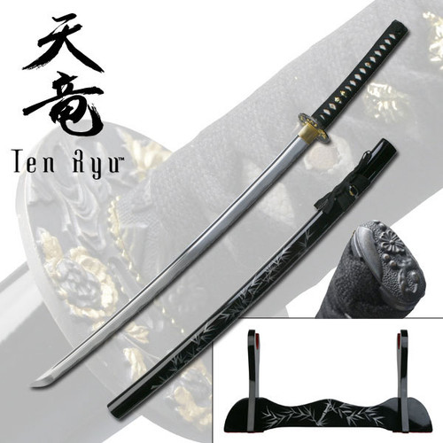 Ten Ryu - Samurai Sword (41.5 Inches - Overall Length)