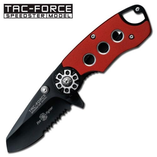 """Fire Fighter """"Legal Automatic' Knife Spring Assist  YC-549RD"""