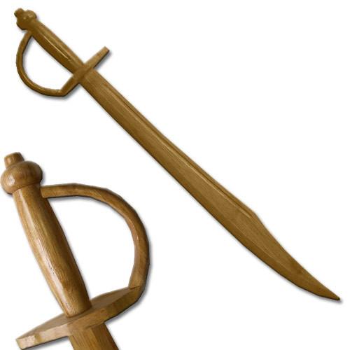 Pirate Cutlass Wooden Sword 1