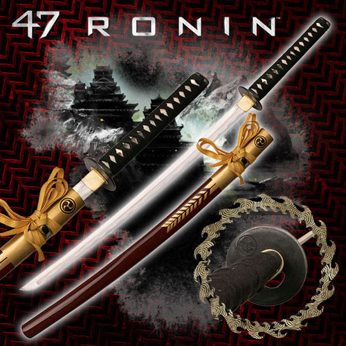 47 Ronin Movie Sword Replica - Oishi Katana Sword