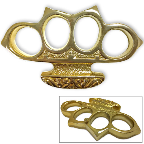 Gold Digger Belt Buckle Knuckle