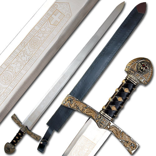 King Richard Lion Crested Longsword