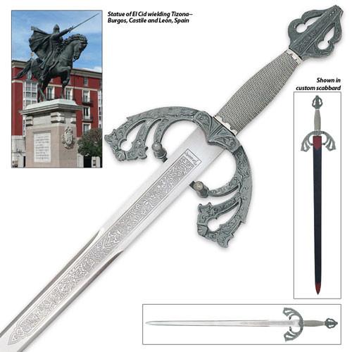Tizona Del Cid Sword