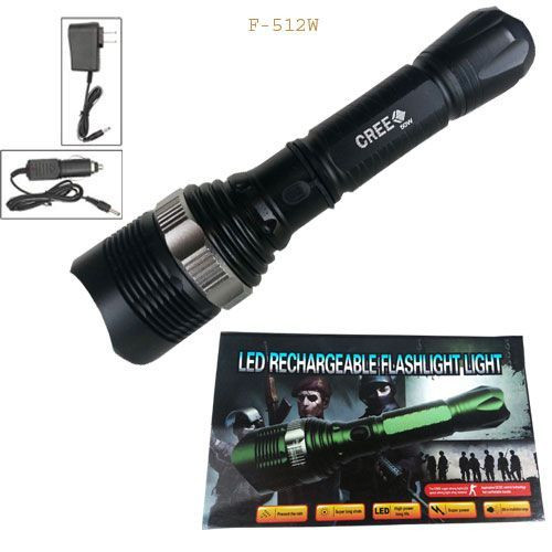 ARMY LED Rechargeable Flashlight