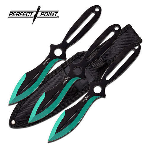 Holy Terror Perfect Point Throwing Knife Set - Green