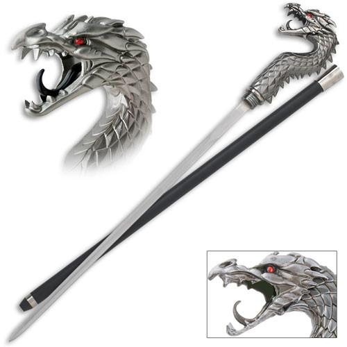 Fighting Dragon Ninja Sword Cane