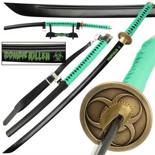 Zombie Killer High Carbon Steel Full Tang Katana Sword