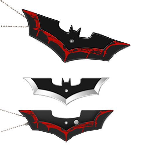 Batman Neck Knife Black