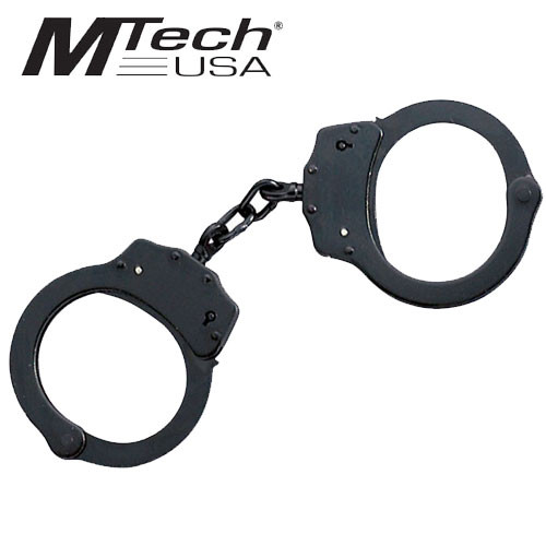 Black Double Lock Handcuffs