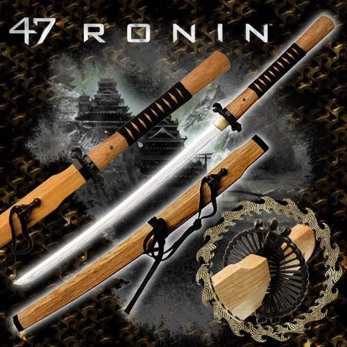 47 Ronin Movie Sword Replica - Tangu Sword.