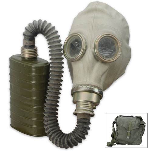 Military Surplus Polish Gas Mask
