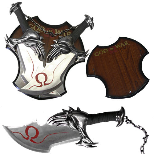 God of War twin blades