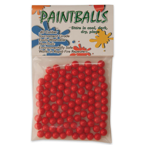 Paint Balls .40 Cal. 100 Ct. Per Pack