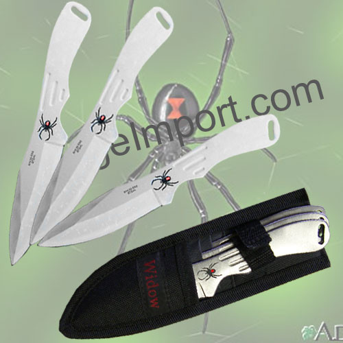 Spider Throwing Knives Set