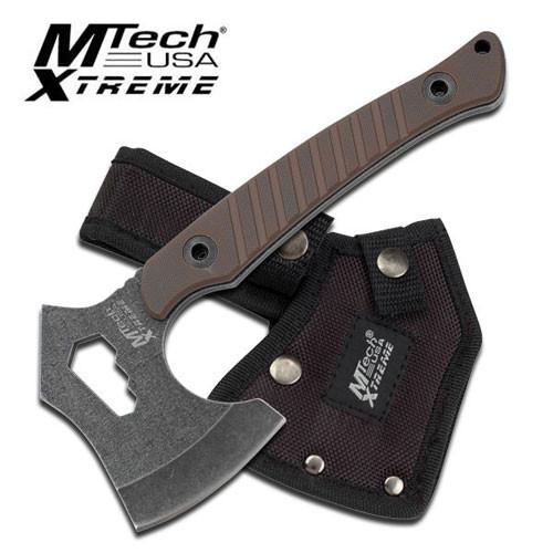 MTECH XTREME MX-AXE10BN AXE BROWN G10 HANDLE